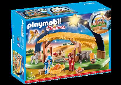 Playmobil - Illuminating Nativity Manger Box
