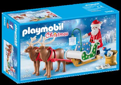 Playmobil - Santa's Sleigh with Reindeer PMB9496