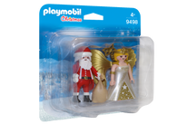 Playmobil - Santa and Christmas Angel PMB9498