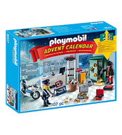 Playmobil - Advent Calendar Jewel Thief Police Operation PMB9007