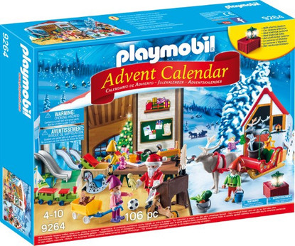 Playmobil - Advent Calendar Santa's Workshop PMB9264 Boxed