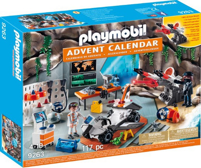 Playmobil - Advent Calendar - Top Agents PMB9263 Box