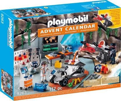 Playmobil - Advent Calendar - Top Agents PMB9263 Box