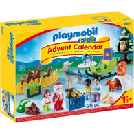 Playmobil - 1.2.3 Advent Calendar - Christmas in the Forest Box