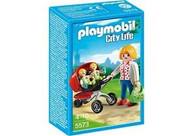 Playmobil - Mother with Twin Stroller PMB5573 Box