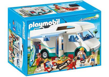 Playmobil - Summer Camper PMB6671 Box