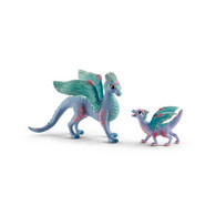 Schleich - Flower Dragon and Baby SC70592