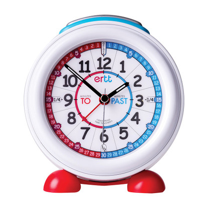 EasyRead Time Teacher Red/Blue Past/To Alarm Clock