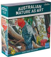 Australian Geographic Gang-gang Cockatoo 1000pc BL02012 Box