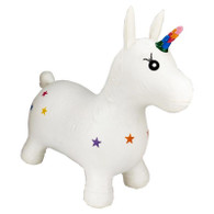 Happy Hopperz - White Unicorn Large