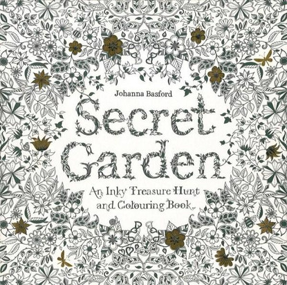 Secret Garden: An Inky Treasure Hunt By Johanna Basford