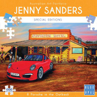 Blue Opal - A Porsche in the Outback 1000 piece Jenny Sanders