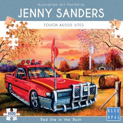 Blue Opal - Red Ute in the Bush 1000 piece Jenny Sanders BL02025