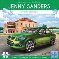 Blue Opal - Green Clubsport at Huskisson Hotel 1000 Piece Jenny Sanders BL02034 Box