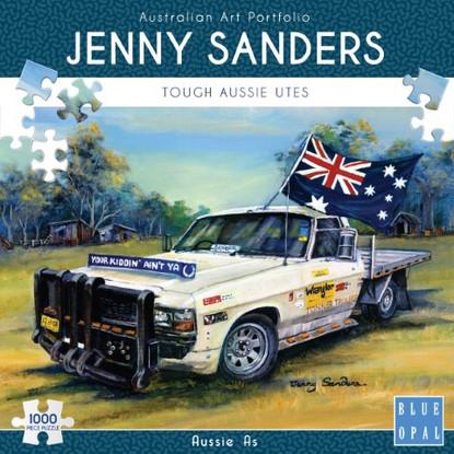 Blue Opal - Aussie As 1000 piece Jenny Sanders BL02024 Box