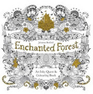 Enchanted Forest: Inky Quest By Johanna Basford