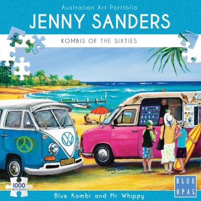 BLue Opal - Blue Kombi and Mr Whippy 1000 piece Jenny Sanders BL02030 Box