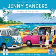 BLue Opal - Blue Kombi and Mr Whippy 1000 piece Jenny Sanders BL02030 Box