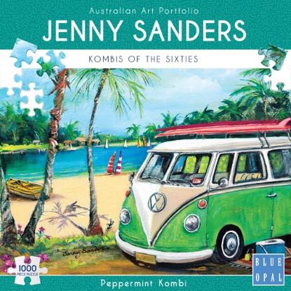 Blue Opal - Peppermint Kombi 1000 piece Jenny Sanders BL02031 Box
