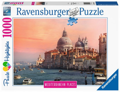 Ravensburger - Mediterranean Italy 1000pc RB14976-6 Box