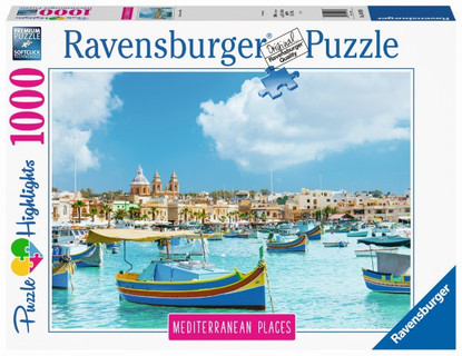 Ravensburger - Mediterranean Malta 1000pc RB14978-0 Box
