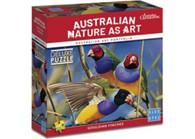 Blue Opal - Australian Geographic Gouldian Finches 1000pc BL02009 box