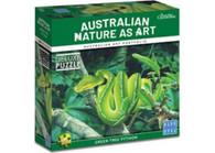 Blue Opal - Australian Geographic Green Tree Python 1000pc BL02010 box