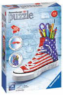 Ravensburger - American Style 3D Sneaker 108pc RB12549-4 Box