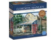 Blue Opal - A Quick Chat 1000 Piece Deluxe Puzzle - Gordan Hanley BL02018 box