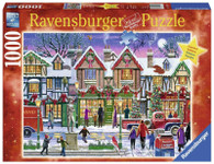 Christmas in the Square Puzzle 1000 piece RB15291-9 box