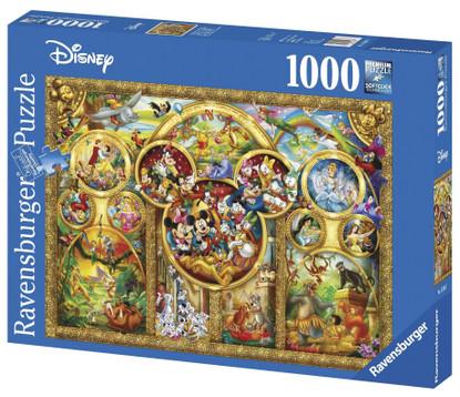 Ravensburger - Disney Best Themes Puzzle 1000pc RB15266-7