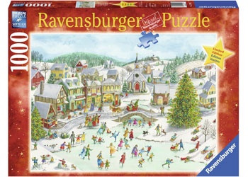 Ravensburger - Playful Christmas Day Puzzle 1000 piece RB15290-2   box