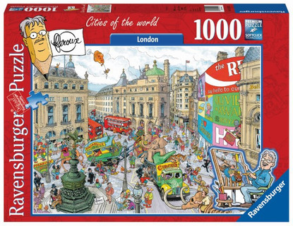 Ravensburger - London Picadilly Circus by Fleroux 1000pc Puzzle RB19213-7