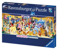Ravensburger - Disney Characters Group Photo Puzzle 1000pc - RB15109-7 box