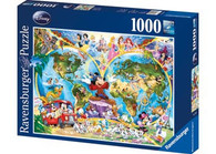 Ravensburger - Disney's World Map Puzzle 1000pc RB15785-3 box