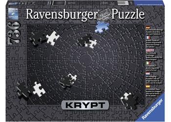 Ravensburger - KRYPT Black Puzzle 736pc RB15260-5 box