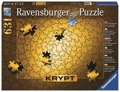 Ravensburger - KRYPT Gold Spiral 654 pc RB15152-3 (Gold) box
