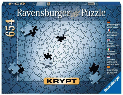 Ravensburger - KRYPT Silver Spiral 654 pc RB15964-2 (blue) box
