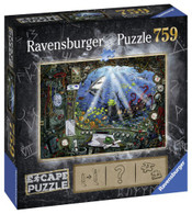 Ravensburger - ESCAPE 4 Submarine Puzzle 759pc RB19959-4