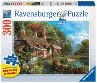 Ravensburger - Cottage on a Lake Large Format Puzzle 300 piece RB13580-6