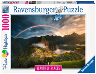 Ravensburger- Rainbow over Machu Picchu Peru 1000 piece RB15158-5