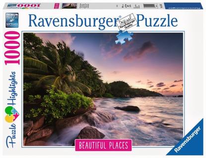 Ravensburger - Praslin Island, Seychelles1000 Piece RB15156-1