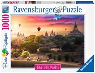 Ravensburger - Hot Air Balloons over Myanmar 1000pc RB15153-0