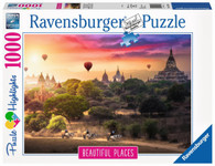 Ravensburger - Hot Air Balloons over Myanmar 1000pc RB15153-0