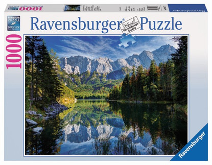 Ravensburger -Eib Lake, Germany - Most Majestic Mountains Puzzle 1000pc RB19367-7