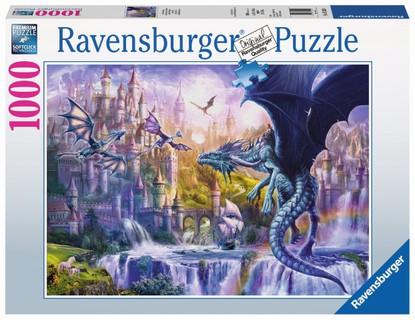 Ravensburger - Dragon Castle Puzzle 1000pc RB15252-0