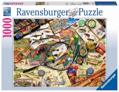 Ravensburger - Fishing Fun Puzzle 1000pc RB19600-5