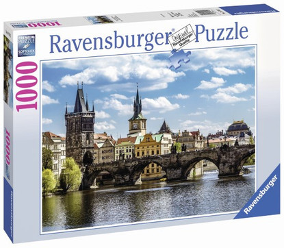 Ravensburger - Prague: The Charles Bridge Puzzle 1000pc RB19742-2