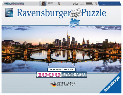 Ravensburger - Frankfurt Reflections Puzzle 1000pc RB15162-2