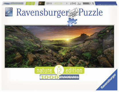Ravensburger - Sun over Iceland Puzzle Nature Edition No.12 1000pc RB15094-6